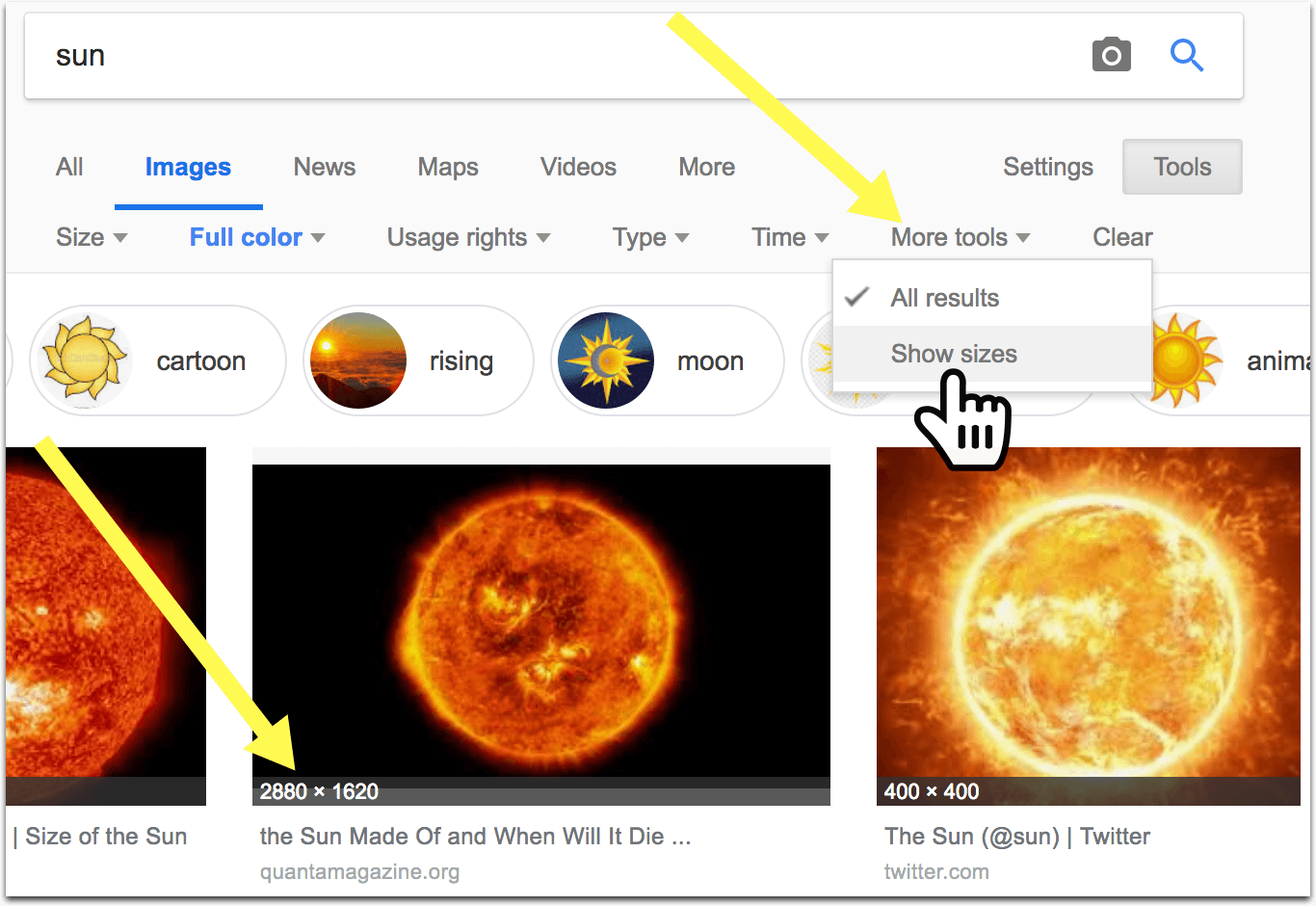 How to Find Images That Are NOT Copyrighted Using Google