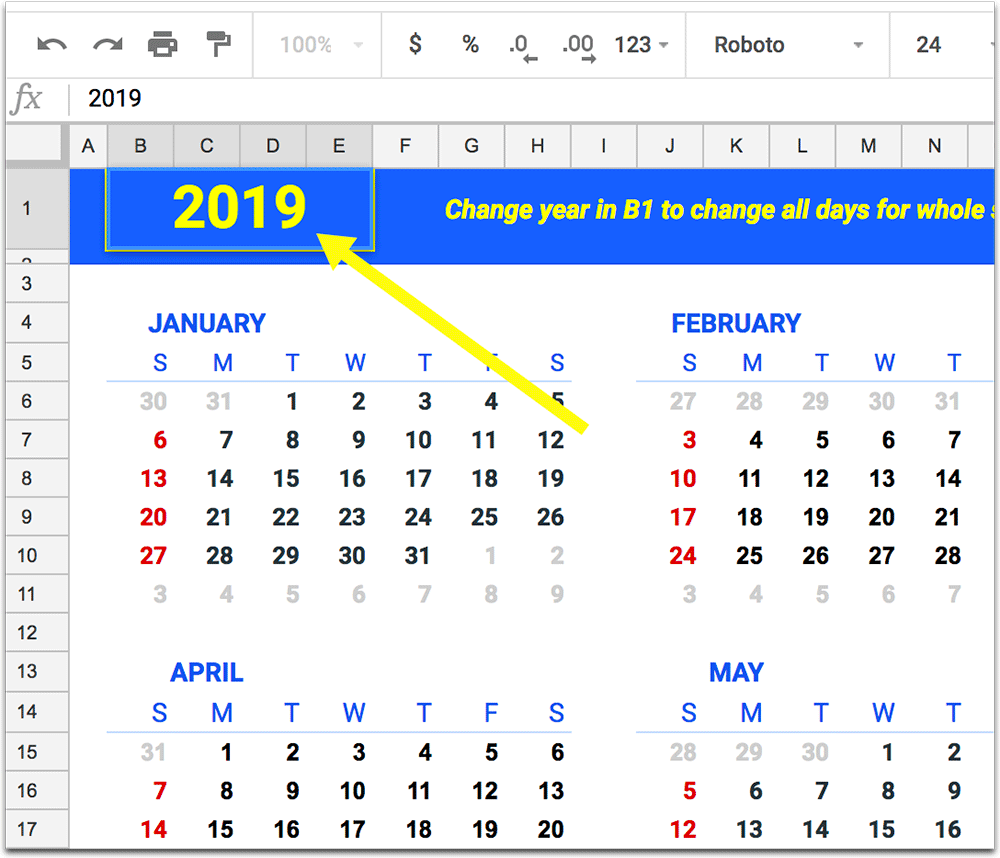 how-to-create-a-calendar-in-google-spreadsheetHow to Create a Calendar in Google Spreadsheet