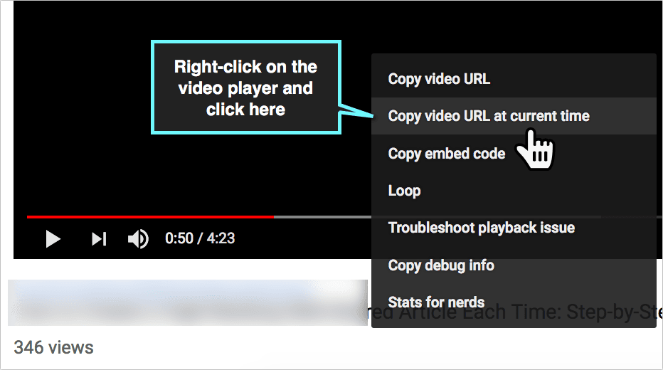 How To Timestamp a YouTube Video - How To Now