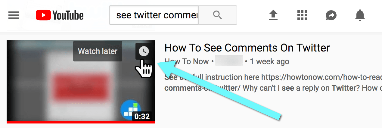 add videos to Youtube watch later on desktop