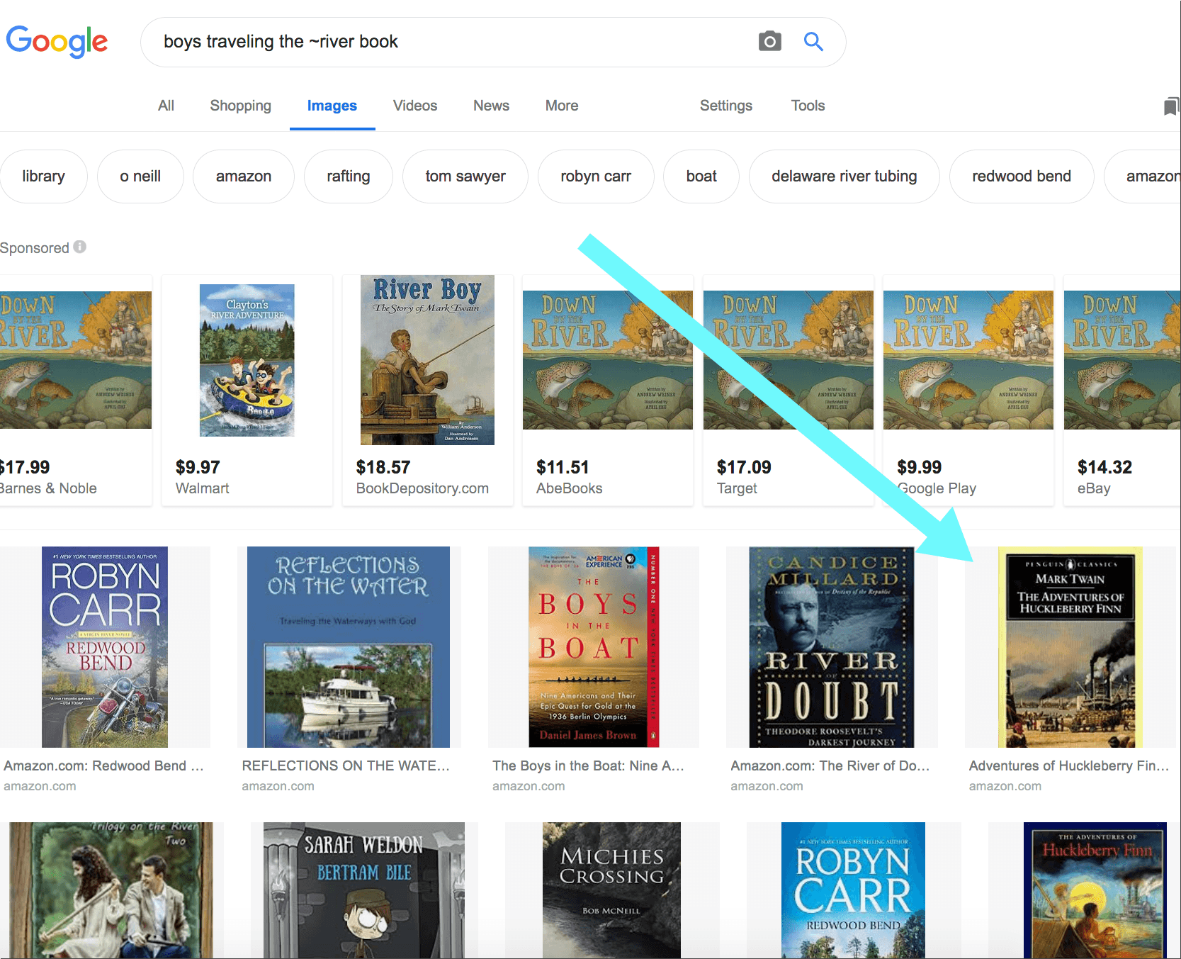 Google Images: find a book when you don't know the title or author