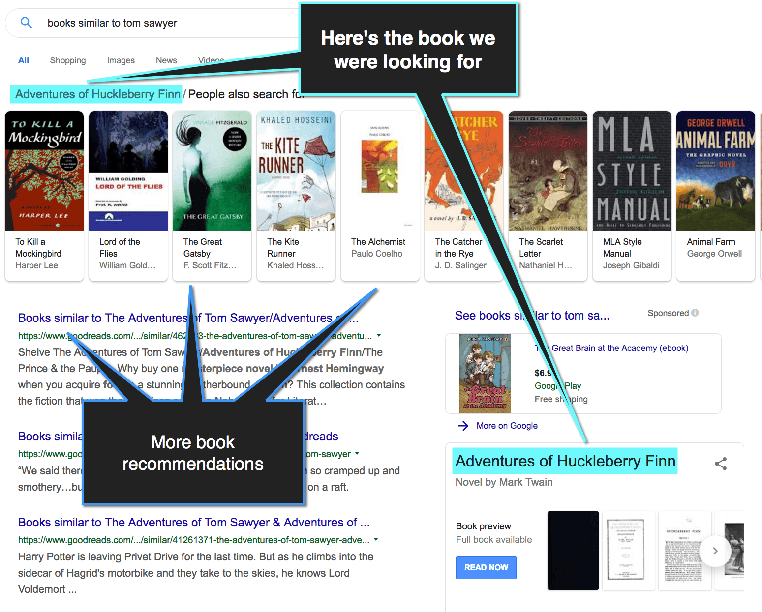How to Find a Book When You Don't Know the Title or the Author (in Google)