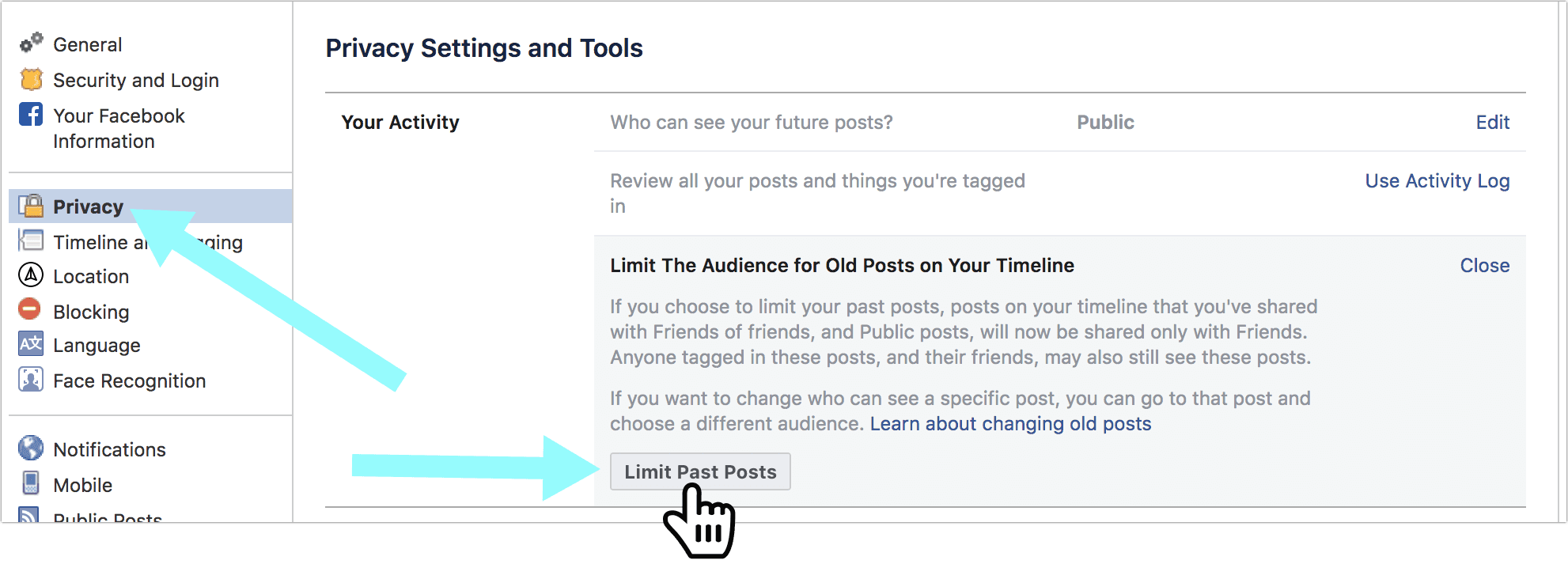 How to Hide Your Old Content on Facebook