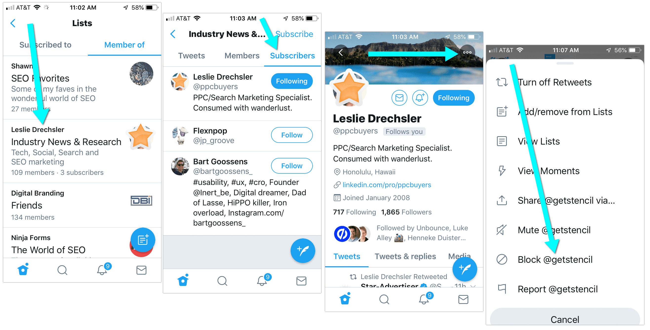 How to Remove Yourself from a Twitter List on Mobile