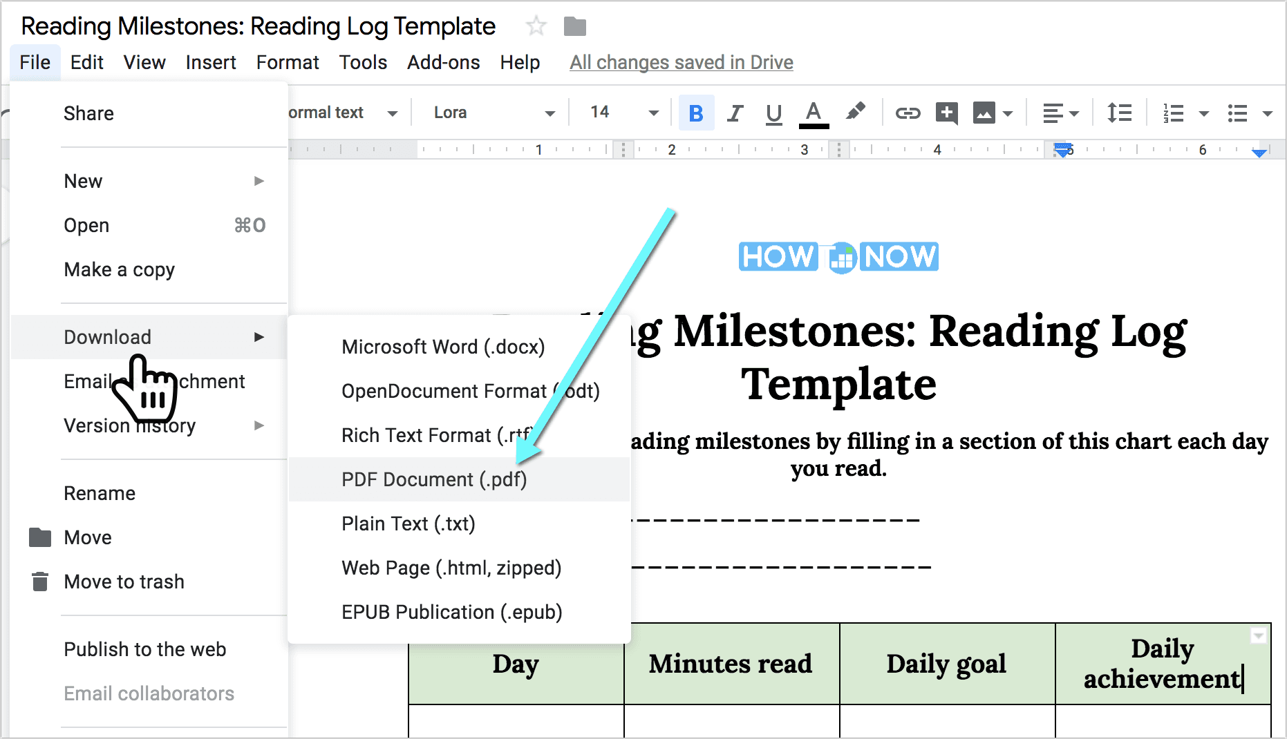 Reading Log Template: How to Maintain Your Book Log in Google Docs