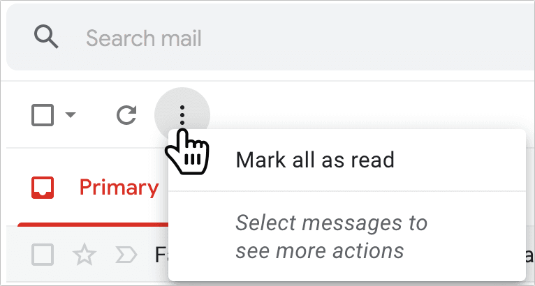 How to Mark All as Read in Gmail