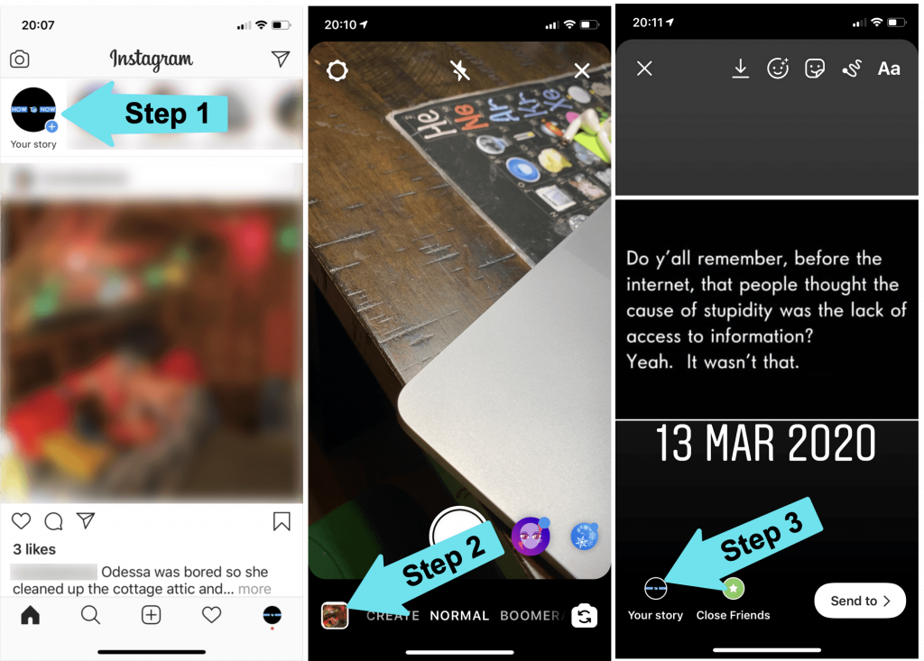 How to Post a Screenshot on Instagram Story