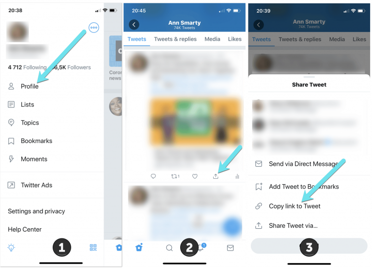 How to Find Your Twitter URL to Share on Instagram, Facebook and More